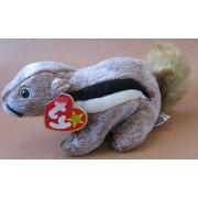 TY Beanie Babies Chipper the Chipmunk Plush Toy Stuffed Animal