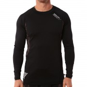 utcai póló férfi - Stamina Base Layer - IRON FIST - Black