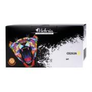CE252A Lézertoner ColorLaserJet CM3530, CP3525 nyomtatókhoz, VICTORIA 504A, sárga, 7k (TOHPCE252V)