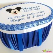 Cutie Trusou Botez Simple Mickey Mouse