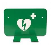 Väggfäste till defibrillator - Grön
