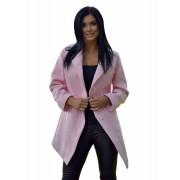 Dámský vlněný kabát s členěným střihem Exclusive