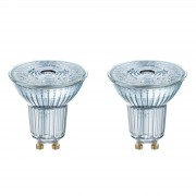 GU10 4.3 W 827 LED reflector bulb, set of two