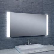 Douche Concurrent Badkamerspiegel Sunny 120x60cm Geintegreerde LED Verlichting Verwarming Anti Condens Touch Lichtschakelaar Dimbaar