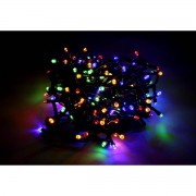 Silamp Guirlande LED Multicolore 220V 7M IP44 140 LED