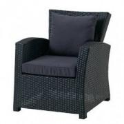 JYSK Loungestoel LANGET zwart