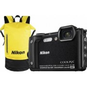 Aparat Foto Compact Nikon Coolpix W300 16MP Holiday Kit Negru