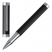 Boss Tintenroller Rollerball Pen Hugo Boss Column HSV6515 Black Stripes