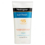 Protetor Solar Neutrogena Sun Fresh FPS 15 120ml - Unissex