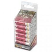Techly Multipack 24 Batterie Power Plus Mini Stilo AAA Alcaline LR03 1,5V