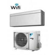Daikin CLIMATIZZATORE MONO INVERTER STYLISH SILVER FTXA20AS/RXA20A WI-FI INVERTER PC GAS R-32 7000 A+++
