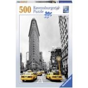 Puzzle cladirea Flatiron, New York, 500 piese Ravensburger