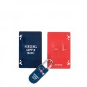 Herschel Supply Co. Travel Accessories TSA Card Lock navy / red (TSA) kofferslot