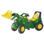 710126 John Deere 7930 con ruote gonfiabili e ruspa