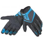 Dainese Paddock Motorcycle Gloves Black Blue S