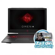 "Laptop HP Omen 15-ce023nm 15.6""FHD AG,Intel Core i7-7700HQ/12GB/1TB/GTX 1050TI 4GB"