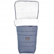 Koelstra Footmuff Rody Special Edition Denim Blue and White 292106207