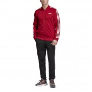 Adidas Performance Fato de treino de gola subida, Back 2 Basicsbordeaux/preto- M