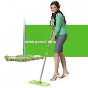 Microfiber cleaning dry and wet mop