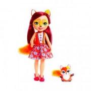 Papusa 30 cm Felicity Fox cu vulpe EnchanTimals