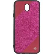 Husa Cover Tellur Glitter III Samsung Galaxy J7 2017 Pink