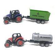 Akrobo Super Power Friction Construction Truck Model (Farm Truck Combo 3)