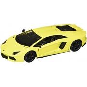 Maisto Lamborghini Aventador LP 700-4, Yellow - 31362 1/24 Scale Diecast Model Toy Car