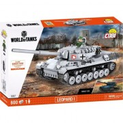 Set de construit cobi, World of Tanks, LEOPARD I (600PCS)