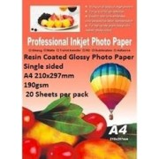 E-Box Resin Coated Glossy Photo Paper-Single