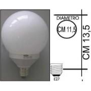 Lampada risparmio energetico 25W E27 Globo Kapta
