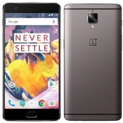 OnePlus 3T (Gunmetal 6GB RAM + 64GB memory)(Refurbished)(1 Year Warranty Bazaar Warranty)