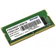 Модуль памяти Patriot Memory DDR4 SO-DIMM 2133MHz PC4-17000 - 8Gb PSD48G213381S