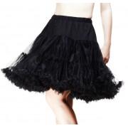 sukně dámská (spodnička) POIZEN INDUSTRIES - COR - Midi Petticoat - Black - POI492