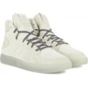 ADIDAS ORIGINALS TUBULAR INVADER 2.0 Mid Ankle Sneakers For Men(White, Brown)