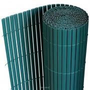 [neu.haus] Kerítés belátásgátló átlátásgátló 90 x 300 cm zöld PVC