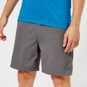 Asics Men's 2-N-1 7 Inch Shorts - Dark Grey Heather - L - Grey