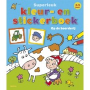 Deltas Superleuk Kleur- en Stickerboek (3-5 jaar)
