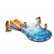 Kid's Backyard Play Banzai Wave Crasher Surf Water Park Slide Summer Fun Outdoors 14 ft Long Play Set