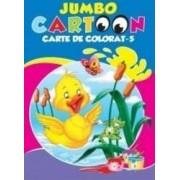 Jumbo Cartoon 5 - Carte de colorat
