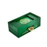 TOYMYTOY Magic Box Secret Wooden Puzzle Box Brain Teaser Money Box Gift Box Green