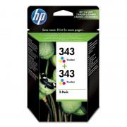HP 343 Pack 2 X Tinteiro Tricolor