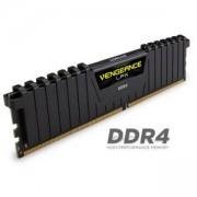 Памет Corsair DDR4, 3200MHz 16GB (2 x 8GB) 288 DIMM, Unbuffered, 16-18-18-36, Vengeance LPX Black Heat spreader, 1.35V, XMP 2.0, CMK16GX4M2Z3200C16