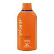 Sun beauty velvet fluid milk spf50 leite protetor solar de corpo 400ml - Lancaster