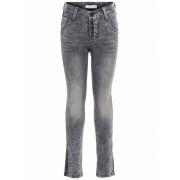 Name It! Jongens Lange Broek - Maat 146 - Grijs - Jeans