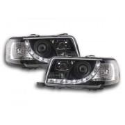 FK-Automotive Phares Daylight pour Audi 80 (type B4) Année: 91-94 noir