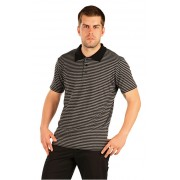 Litex Tricou polo pentru bărbați cu mâneci scurte 90205 M