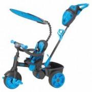 Tricicleta Little Tikes Deluxe Edition 4 in 1 Neon albastra