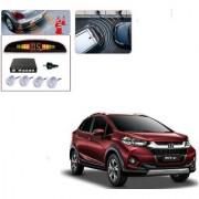 Auto Addict Car Silver Reverse Parking Sensor With LED Display For Honda WRV
