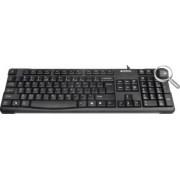 Tastatura A4Tech KR-750 PS2 Black