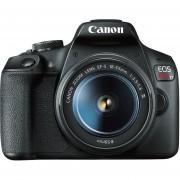 Cámara Reflex Canon Eos Rebel T7 Con Lente 18 55 18mp wifi